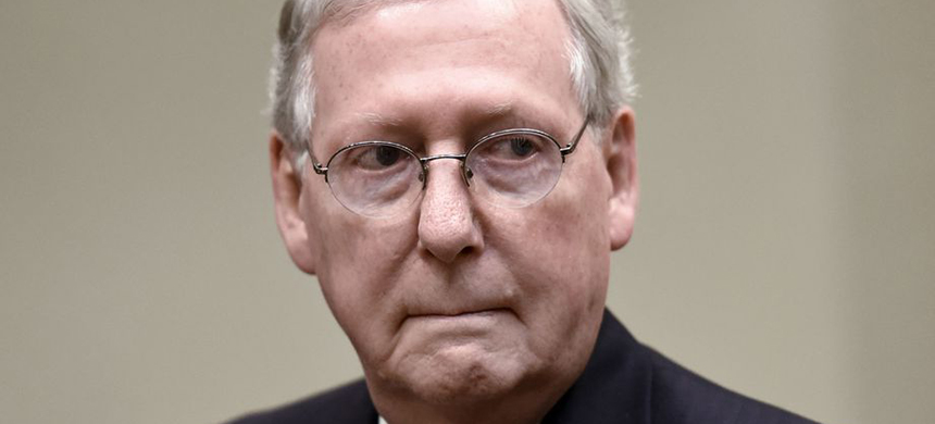 Mitch McConnell. (photo: Olivier Douliery/Getty Images)