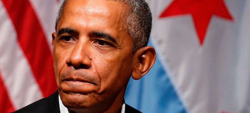 'The optics of some of Obama's decisions since leaving office have been damaging.' (photo: Jim Young/AFP/Getty)