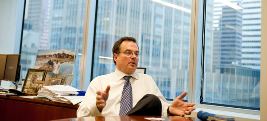 Craig S. Phillips, a former top executive on Morgan Stanley's trading desk, is the man Donald Trump put in charge of reviewing Wall Street rules. (photo: Stefan Falke/laif/Redux)