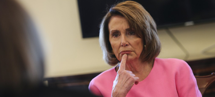 House Democratic Majority Leader Nancy Pelosi. (photo: Oliver Contreras/The Washington Post)