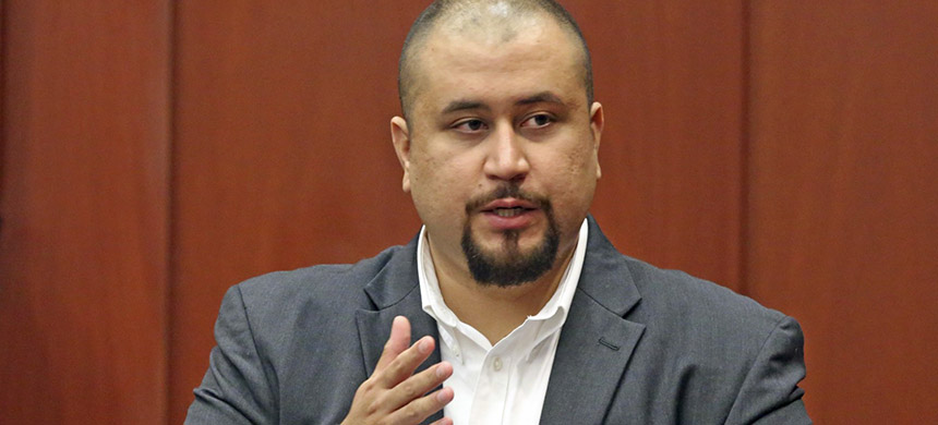 In this September 13, 2016 file photo, George Zimmerman looks at the jury as he testifies in a Seminole County courtroom in Orlando, Florida. (photo: Red Huber/Orlando Sentinel/AP)