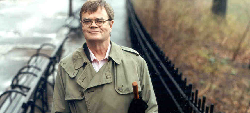 Author and radio personality Garrison Keillor. (photo: NPR)