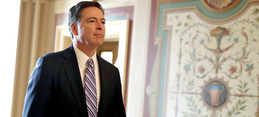 Former director of the FBI, James Comey. (photo: Getty)