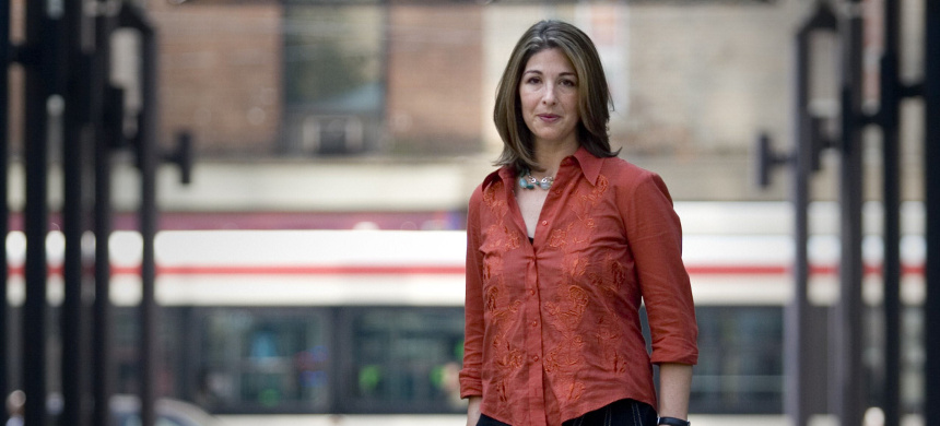 Author Naomi Klein. (photo: Getty)