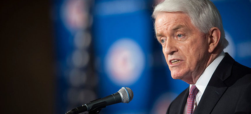 Head of the Chamber, Tom Donohue. (photo: Pete Marovich/Bloomberg)