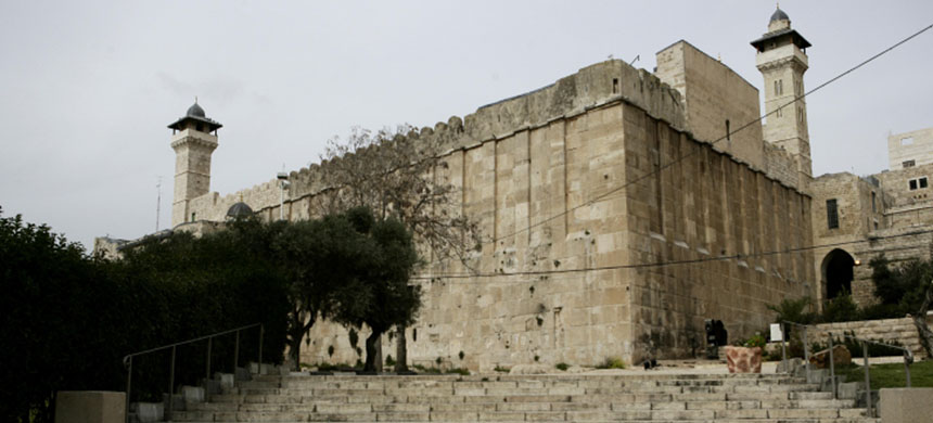 The Ibrahimi mosque or the Tomb of the Patriarchs, in the West Bank town of Hebron. (photo: Mondoweiss)