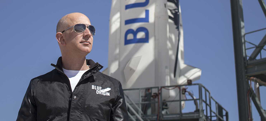Jeffrey P. Bezos. (photo: Blue Origin)