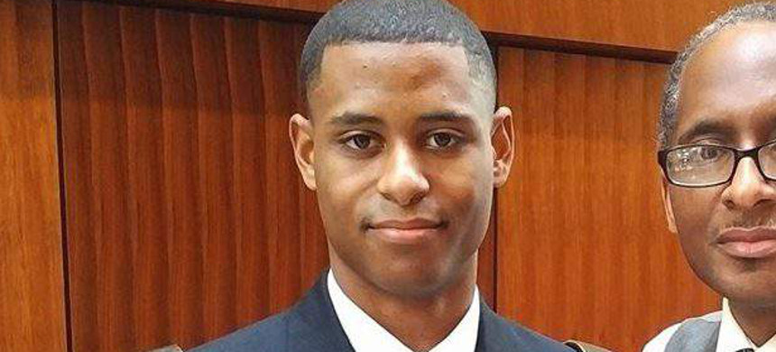 Richard Collins III was stabbed and killed on the campus of the University of Maryland last week. (photo: Reuters)