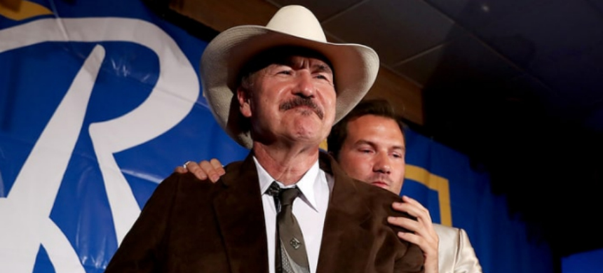 Democrat Rob Quist was beat by Greg Gianforte in Thursday's special election in Montana. (photo: Justin Sullivan/Getty Images)