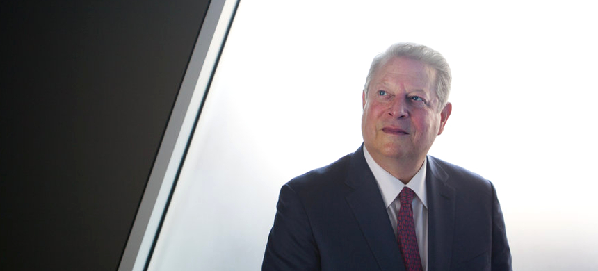 When it comes to convincing climate change deniers, Al Gore says,