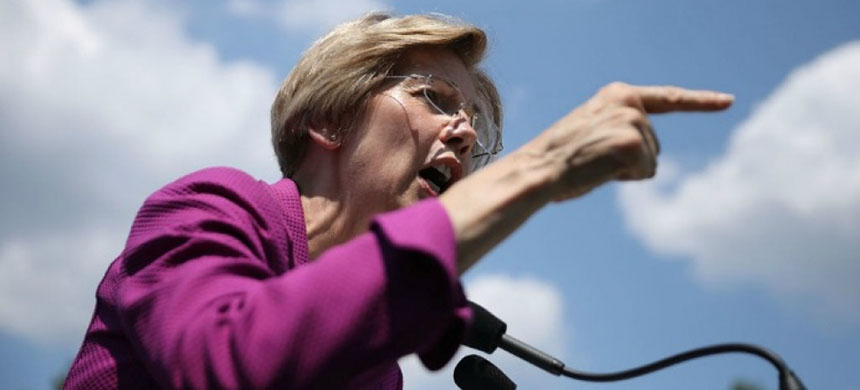 Sen. Elizabeth Warren. (photo: Chip Somodevilla/Getty Images)