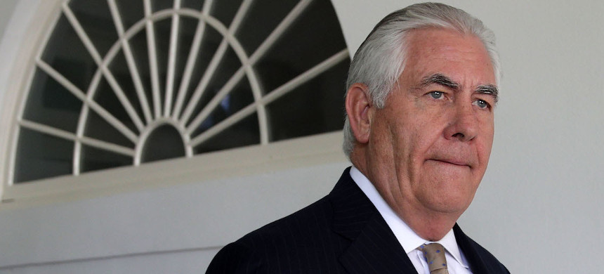 Sec. of State, Rex Tillerson. (photo: Getty)