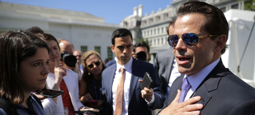Anthony Scaramucci. (photo: Chip Somodevilla/Getty Images)