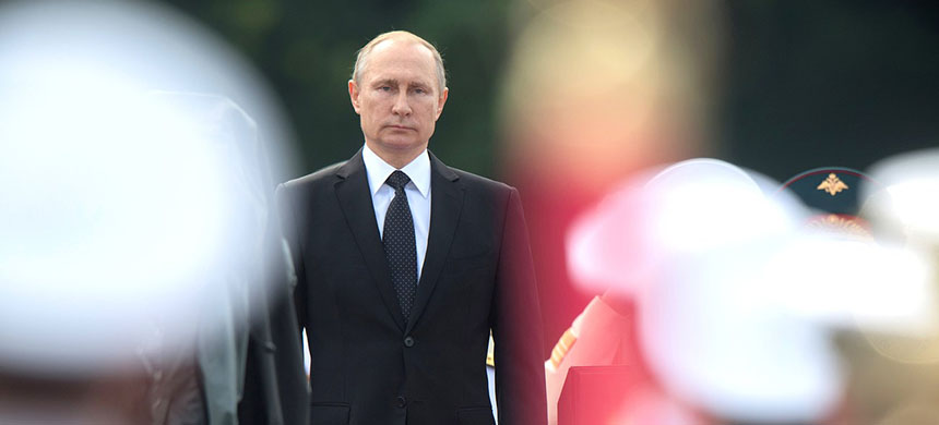 The Russian president's cuts to the American diplomatic mission may prove to be an opening gambit in negotiations rather than an ironclad position. (photo: Sergey Guneev/Sputnik/AP)