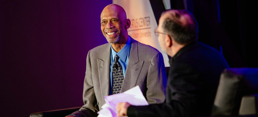Kareem Abdul-Jabbar. (photo: The Mercatus Center/George Mason University)