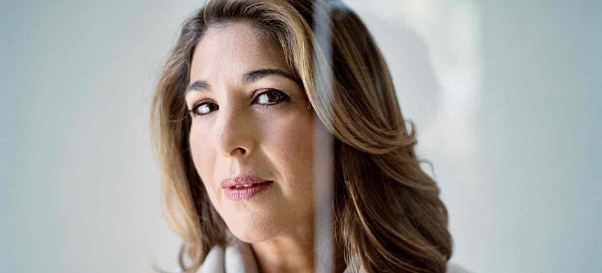 Naomi Klein photographed in Toronto for the Observer New Review. (photo: Christopher Wahl/the Observer)