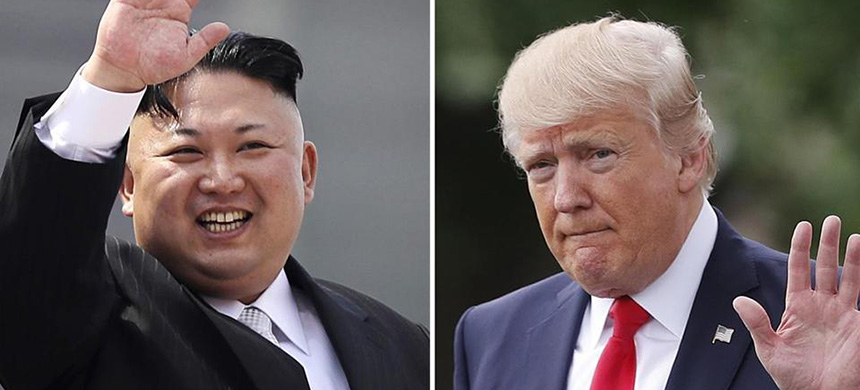 North Korean leader Kim Jong Un, in a file photo, and President Donald Trump. (photo: AP)