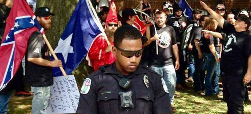 Charlottesville Police Officer Nash.  (photo: photographer unknown/Facebook)