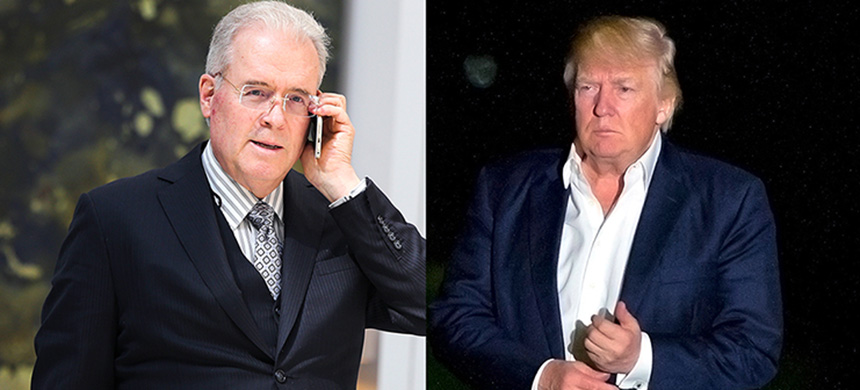 Robert Mercer and Donald Trump. (photo: Getty Images)