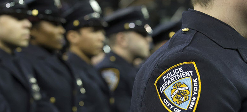 New York Police Department officers. (photo: AP)