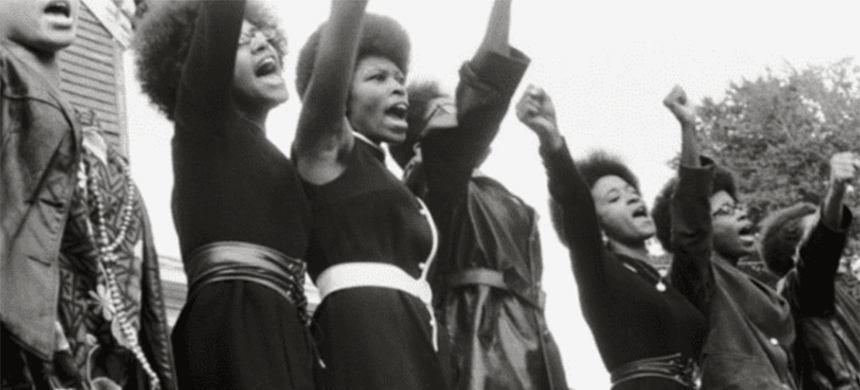 Women in the Black Panther Party were at the helm 