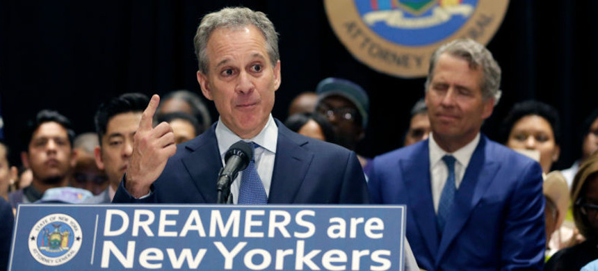 New York Attorney General Eric Schneiderman. (photo: AP)