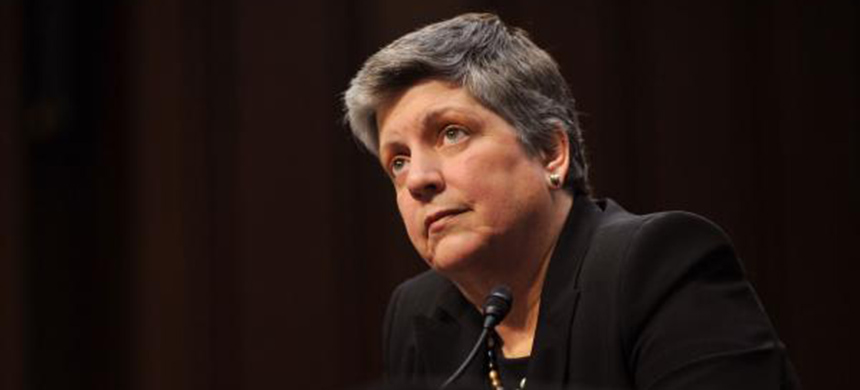 Former Homeland Security Secretary Janet Napolitano 