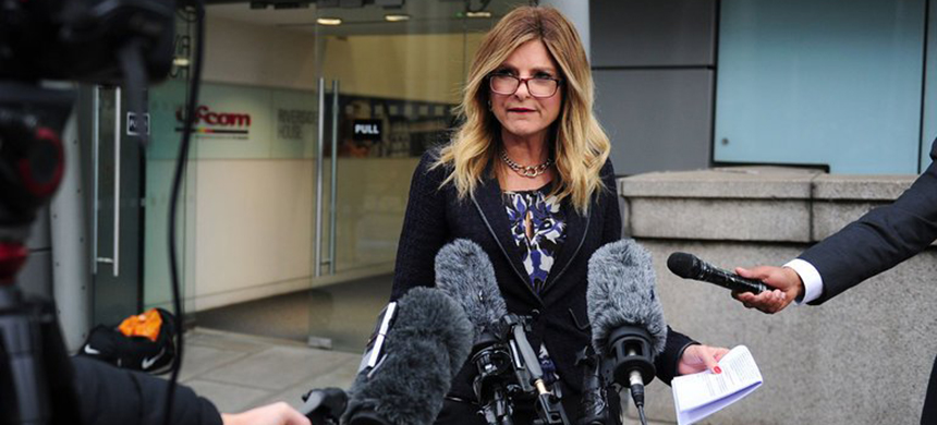 Lisa Bloom resigned on Saturday as an adviser to Harvey 