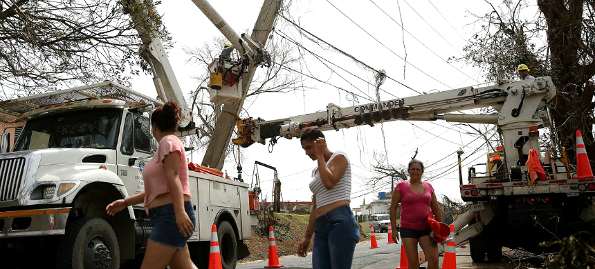 Corozal, Puerto Rico. (photo: Joe Raedle/Getty Images)