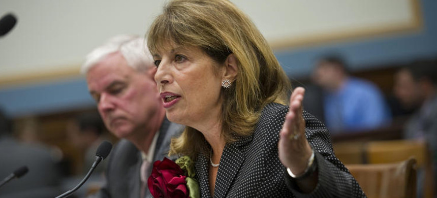 Democratic Representative Jackie Speier shares her sexual assault story in an effort to change Capitol Hill. (photo: AP)