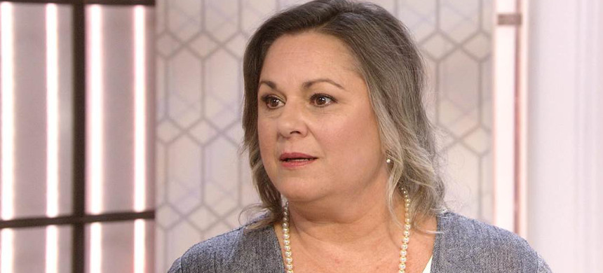 Leigh Corfman says Roy Moore assaulted her when she was just 14 years old. (photo: Jean Pieri/Pioneer Press)