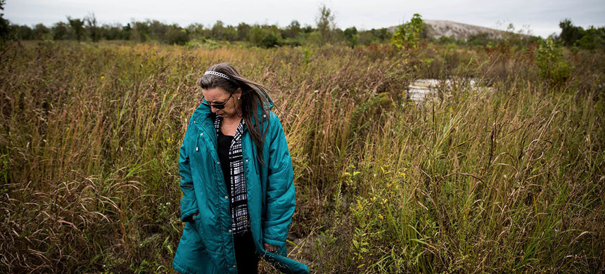 Gloria Workman of Tar Creek, Oklahoma. (photo: M. Scott Mahaskey/Politico)