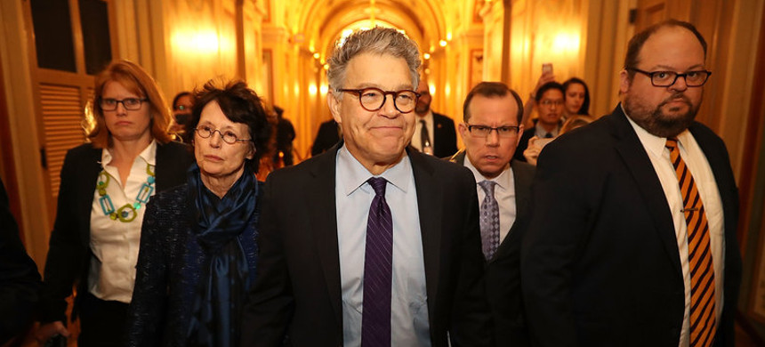 Senator Al Franken. (photo: Chip Somodevilla/Getty)