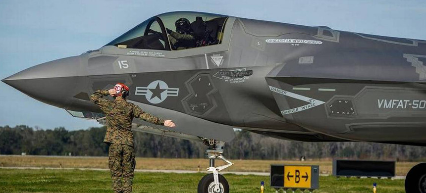 F-35 fighter jet. (photo: U.S. Air Force)