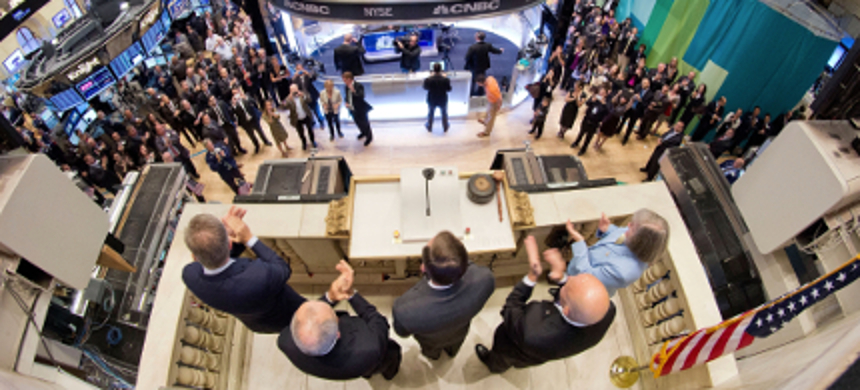 The New York Stock Exchange. (photo: Ben Hider/NYSE Euronext)
