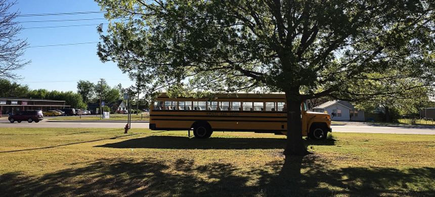 A school bus. (photo: Reuters)