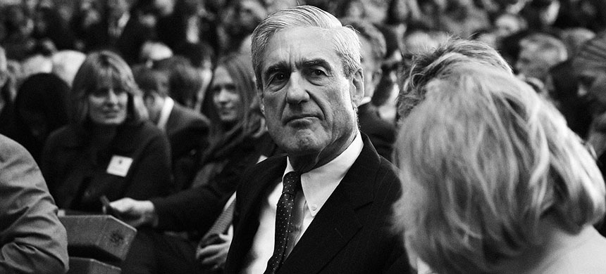 Special Counsel Robert Mueller, Washington DC, 2017. (photo: Alex Wong/Getty Images)