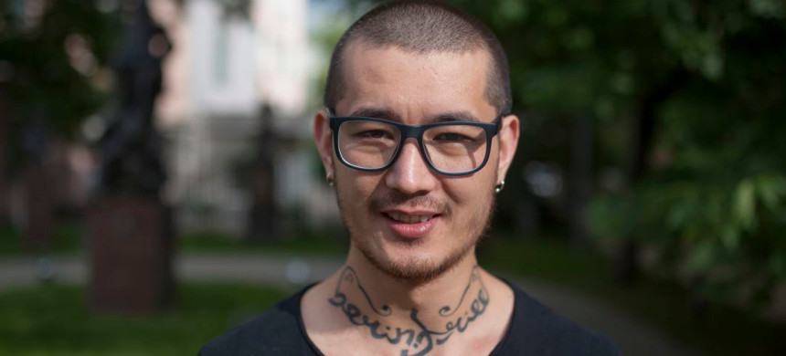 Khudoberdi Nurmatov, a journalist and LGBT activist. (photo: Hudoberdi Nurmatov)