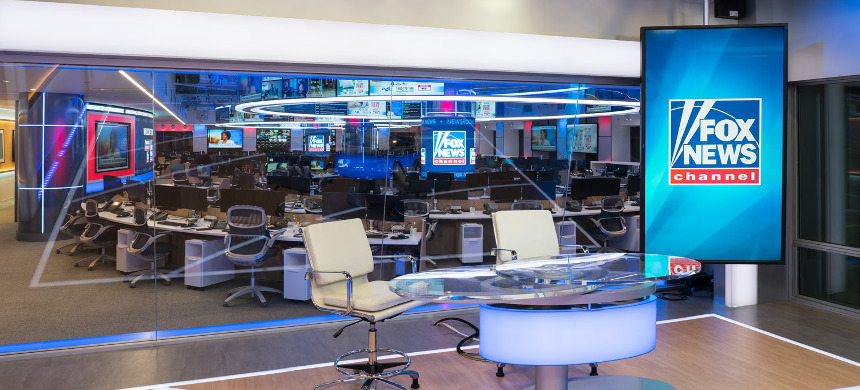 Newsroom at Fox News in New York City. (photo: AP)