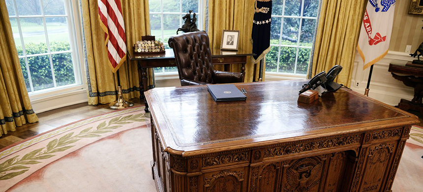 The Oval Office. (photo: Olivier Douliery/Getty Images)