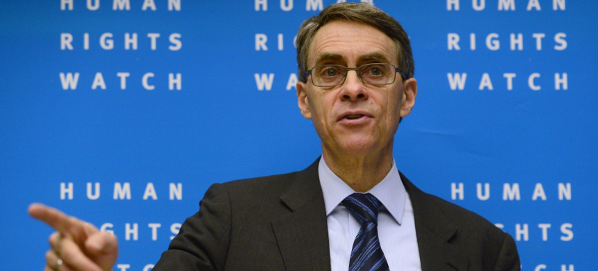 Kenneth Roth, executive director of Human Rights Watch. (photo: John Macdougall/Getty)