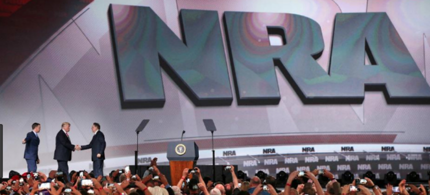 The National Rifle Association's annual convention. (photo: AJC.com)
