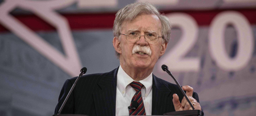 John Bolton. (photo: Jeff Malet/ZUMA)