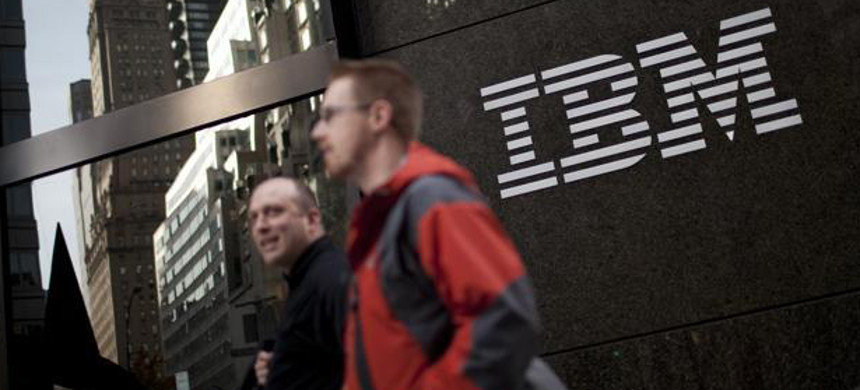 IBM has systematically used layoffs to reduce the age of its workforce. (photo: Bloomberg/Getty)