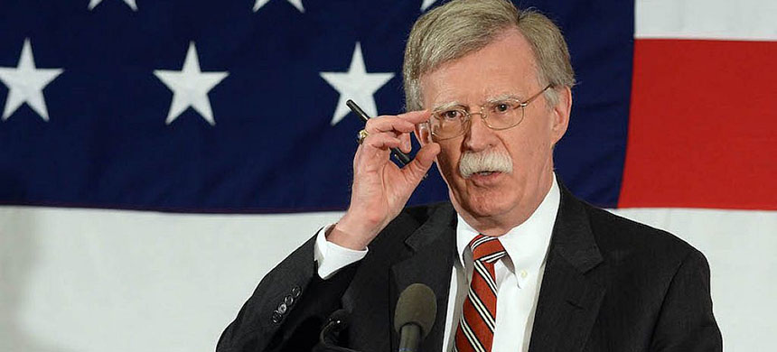 John Bolton. (photo: Darren McCollester/Getty Images/JTA)