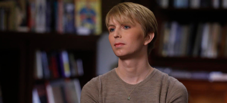 Whistle-blower Chelsea Manning. (photo: NBC)