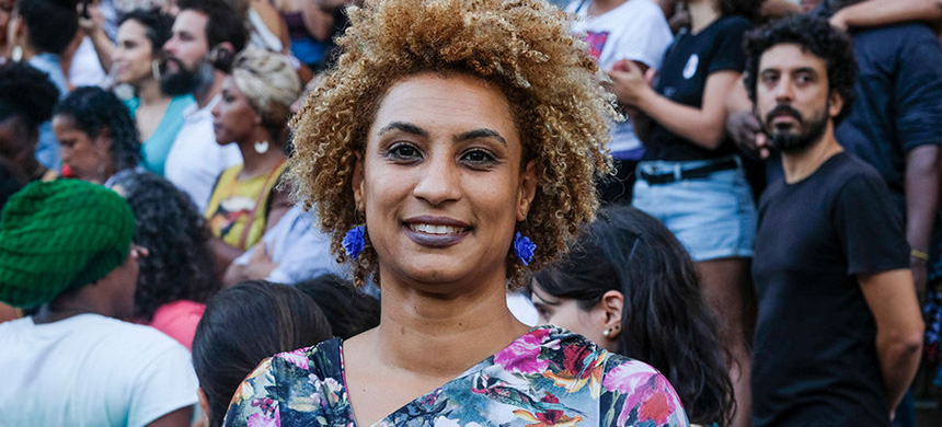 Marielle Franco. (photo: Ellis Rua/AP)