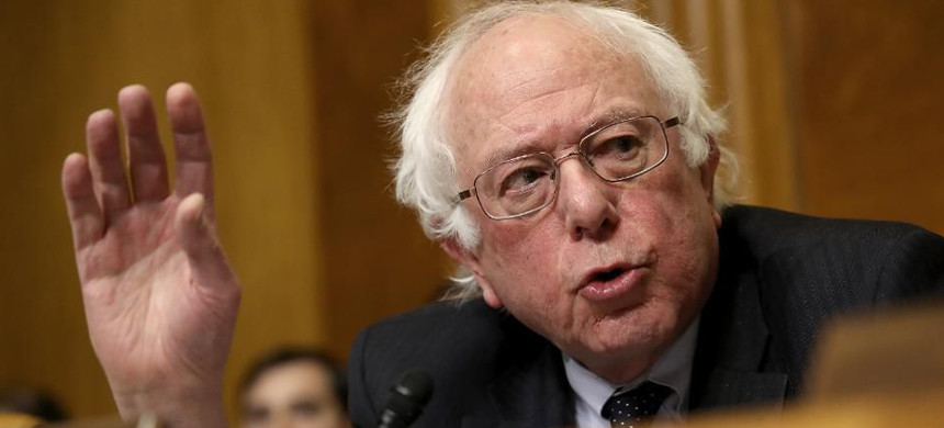Senator Bernie Sanders. (photo: Win McNamee/Getty)