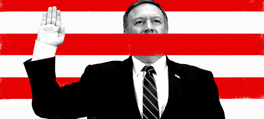 Mike Pompeo. (image: Jim Cooke/Joe Raedle/Getty Images)