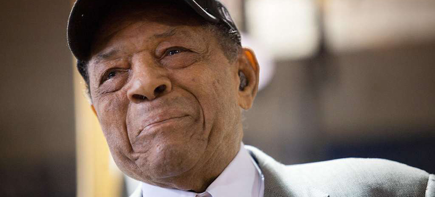 Willie Mays. (photo: Santiago Mejia/The Chronicle)